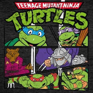TMNT Turtles Rapha, Don, Leo, Mike - Männer Premium Hoodie