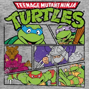TMNT Turtles Heores - Men's Sweatshirt by Stanley & Stella