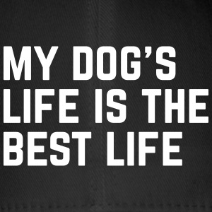 Dog's Life Funny Quote Caps & luer - Flexfit baseballcap