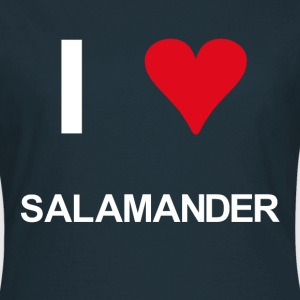 I love salamander - Frauen T-Shirt
