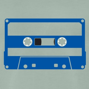 CASSETTE BLUE - Men's Premium T-Shirt
