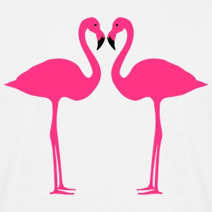 Flamingo, flamingos (super cheap!) T-skjorter - T-skjorte for menn