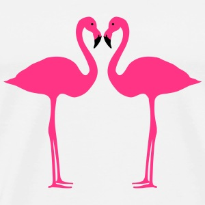 Flamingo, flamingos (super cheap!) Camisetas - Camiseta premium hombre