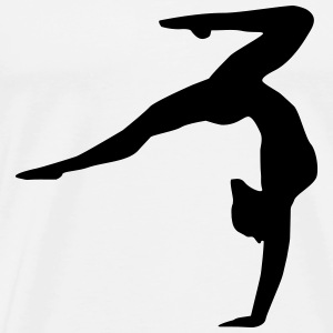 Gymnastics, gymnastics ( super cheap!) T-Shirts - Men's Premium T-Shirt