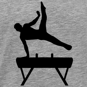 Gymnast, Gymnystics (super cheap!) T-shirts - Mannen Premium T-shirt