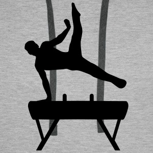 Gymnast, Gymnystics (super cheap!) Hoodies & Sweatshirts - Men's Premium Hoodie