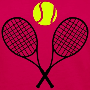 Tennis racket and ball (cheap!) 2 colors Långärmade T-shirts - Långärmad premium-T-shirt dam
