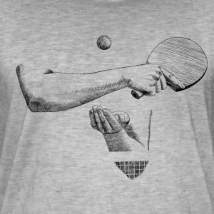 Ping-pong Tee shirts - T-shirt vintage Homme