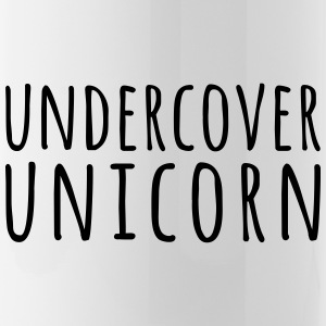 Undercover Unicorn Funny Quote Mugs & Drinkware - Water Bottle