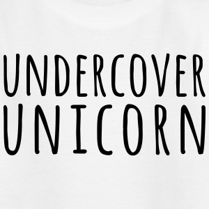 Undercover Unicorn Funny Quote Shirts - Teenage T-shirt