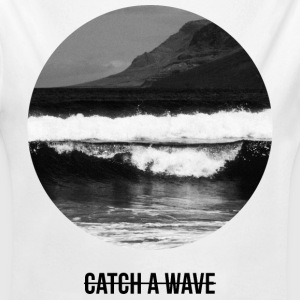 catch a wave Baby body - Baby bio-rompertje met lange mouwen