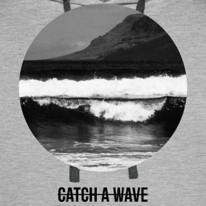 catch a wave Gensere - Premium hettegenser for menn