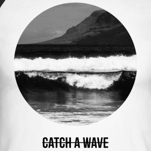 catch a wave Manches longues - T-shirt baseball manches longues Homme