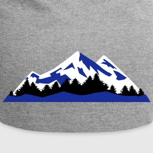 Mountain, Winter Landscape (super cheap) Caps & Hats - Jersey Beanie
