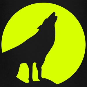 Wolf, Moon (super cheap!) Shirts - Teenager Premium T-shirt