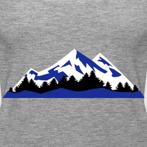 Mountain, Winter Landscape (super cheap) Topy - Tank top damski Premium