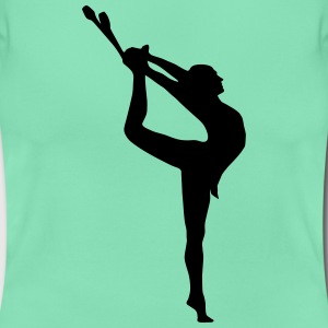 Gymnast, rythmic gymnastics (cheap!) Camisetas - Camiseta mujer