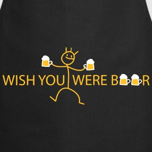 wish you were  Aprons - Cooking Apron