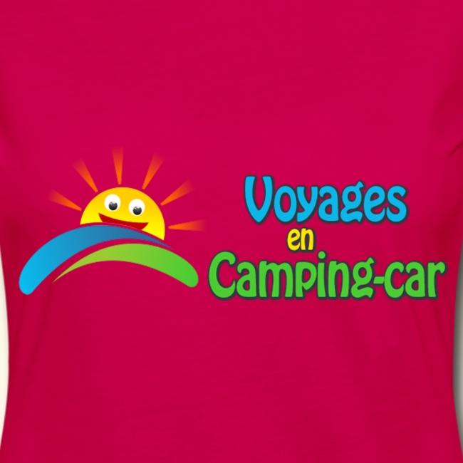 T-Shirt femme du Voyages en Camping-Car