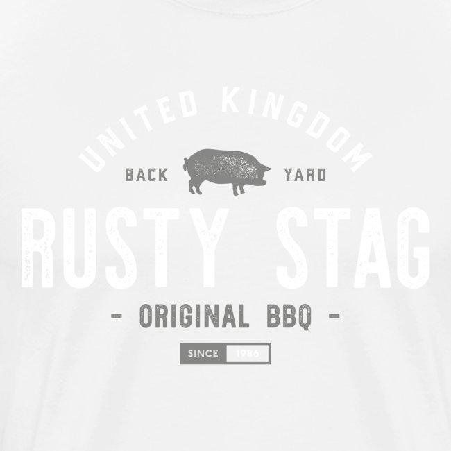 Rusty Stag BBQ Tee W/G