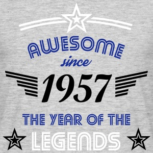 Awesome since 1957 - Männer T-Shirt