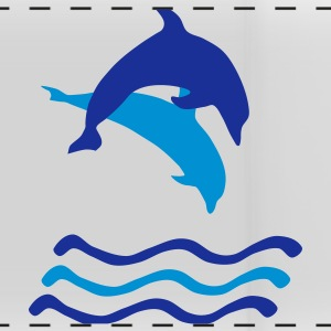 Dolphins and Waves, Dolphin (super cheap!) Tazas y accesorios - Taza panorámica
