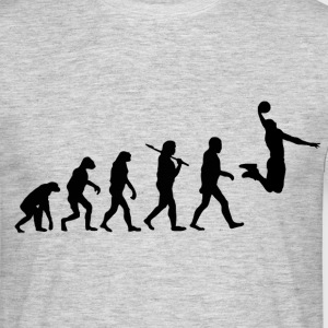 Evolution Basketball T-Shirts - Männer T-Shirt
