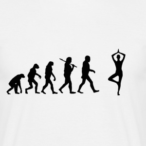 Evolution Yoga T-Shirts - Männer T-Shirt