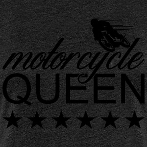 motorcycle queen T-Shirts - Frauen Premium T-Shirt