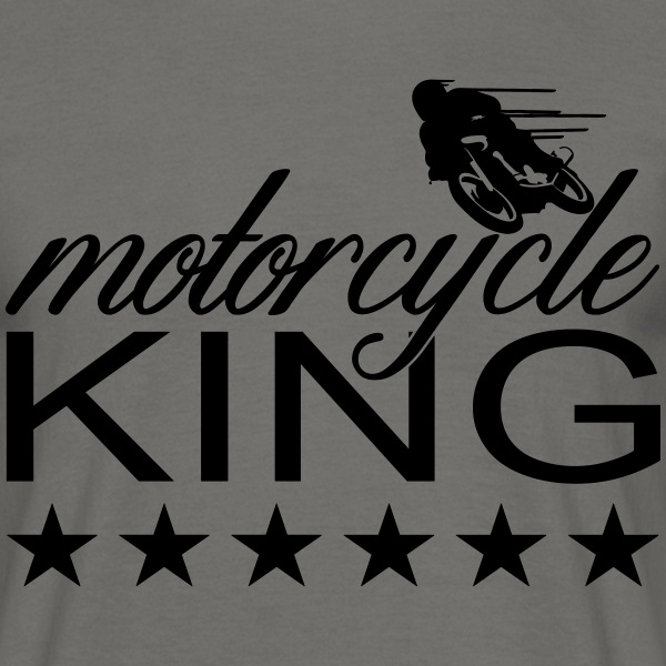 motorcycle king T-Shirts - Männer T-Shirt