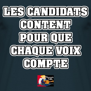 LES CANDIDATS CONTENT POUR QUE CHAQUE VOIX COMPTE