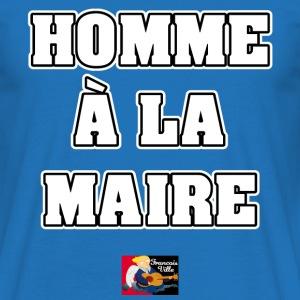 HOMME À LA MAIRE - JEUX DE MOTS - FRANCOIS VILLE