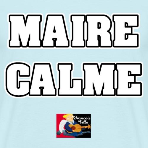 MAIRE CALME - JEUX DE MOTS - FRANCOIS VILLE