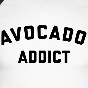 Avocado Addict Funny Quote Long sleeve shirts - Men's Long Sleeve Baseball T-Shirt