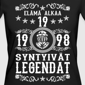 1998 - 19 vuotta - Legendat - 2017 - FI T-Shirts - Frauen Bio-T-Shirt
