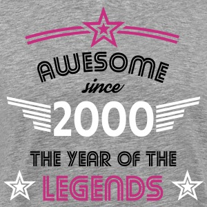 Awesome since 2000 T-Shirts - Männer Premium T-Shirt