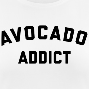 Avocado Addict Funny Quote T-shirts - Andningsaktiv T-shirt dam