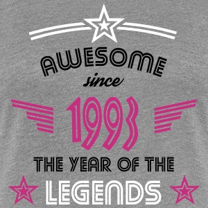 Awesome since 1993 T-Shirts - Frauen Premium T-Shirt