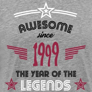 Awesome since 1999 T-Shirts - Männer Premium T-Shirt