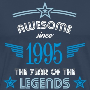 Awesome since 1995 T-Shirts - Männer Premium T-Shirt