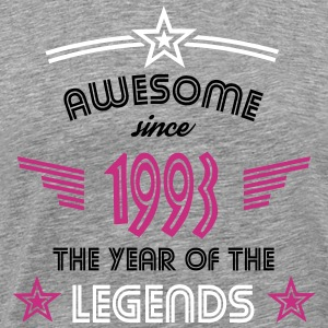 Awesome since 1993 T-Shirts - Männer Premium T-Shirt