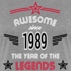 Awesome since 1989 T-Shirts - Frauen Premium T-Shirt
