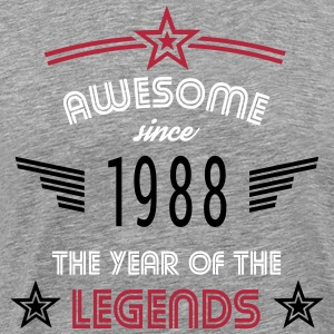 Awesome since 1988 T-Shirts - Männer Premium T-Shirt