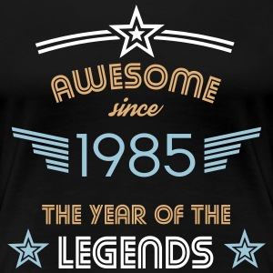 Awesome since 1985 T-Shirts - Frauen Premium T-Shirt