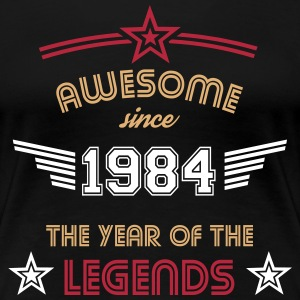 Awesome since 1984 T-Shirts - Frauen Premium T-Shirt
