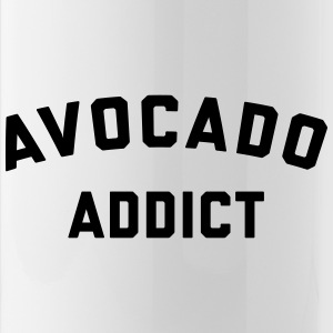 Avocado Addict Funny Quote Mugs & Drinkware - Water Bottle