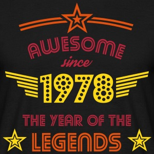 Awesome since 1978 T-Shirts - Männer T-Shirt