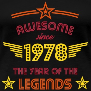 Awesome since 1978 T-Shirts - Frauen Premium T-Shirt