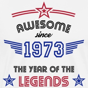 Awesome since 1973 T-Shirts - Männer Premium T-Shirt