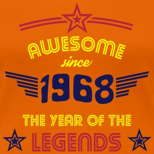 Awesome since 1968 - Psychedelic Edition T-Shirts - Frauen Premium T-Shirt